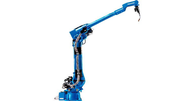 Yaskawa presenta un nuevo robot de soldadura con un alcance extralargo