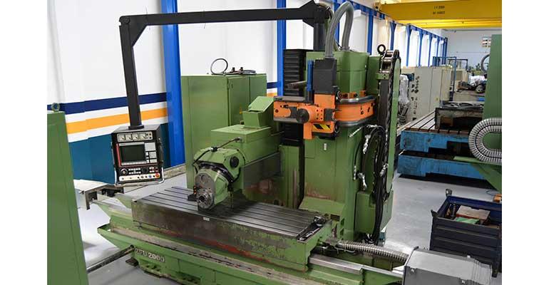 Fresadora Bancada Fija Zayer ZFU 2000 con CNC Fagor
